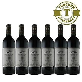 Rotwein-Frankreich-Cuve-Chateau-Vivies-Corbieres-trocken-6x075L