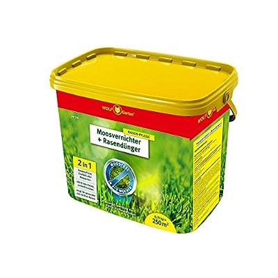 WOLF-Garten Moosvernichter und Rasendünger - SW 250 - 8,75 kg für 250 m² - 3841030 von WOLF-Garten auf Du und dein Garten