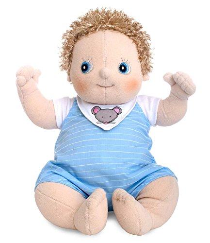 45cm Baby Erik Soft Puppe (Waschbar Haar-spray-farbe)