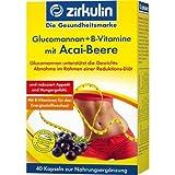 GLUCOMANNAN+B-Vitamine mit Acai-Beere Kapseln 40 St