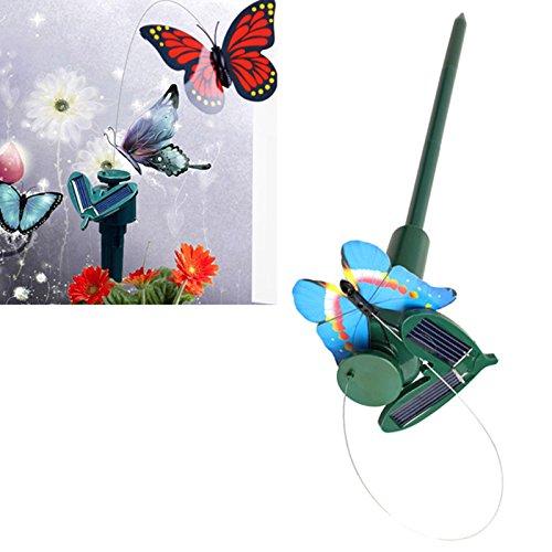Gartenbedarf Solar Powered Dancing Flying Schmetterlinge für Garten Yard Dekoration Schmetterling Spielzeug