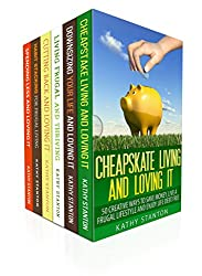 Living Frugal And Happy Box Set (6 in 1): Your Complete Guide To Saving Money And How To Enjoy Living Life On A Budget (Downsizing, How To Save Money, Creating A Budget, How To Lower Your Bills)