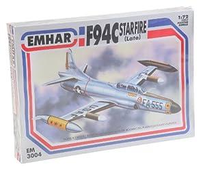 Emhar Lockheed F94C Starfire (Finales) - 1:72 Kit de plástico Modelo