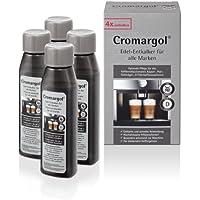 WMF Entkalker Cromargol Edel-Entkalker Kalk-Reiniger 4er-Pack für Kaffeemaschine, Kaffeevollautomat, Kapselmaschine, Padmaschine, Siebträgermaschine 4x100 ml Kalklöser
