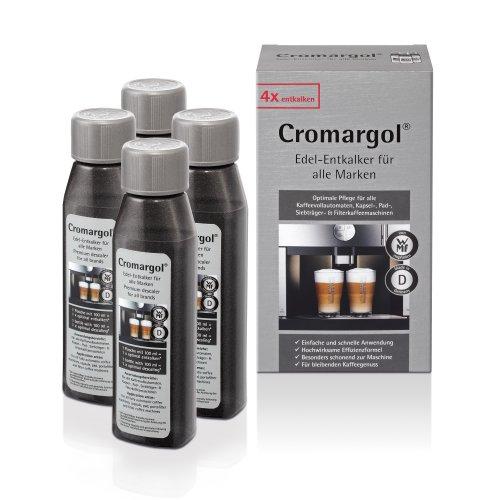 WMF Entkalker Cromargol Edel-Entkalker Kalk-Reiniger 4er-Pack für Kaffeemaschine,...
