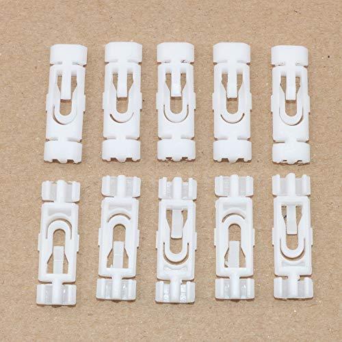 10x Dachleisten Schutzleiste Clips für Golf Jetta Vento 1H0853733B