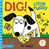 Dig! Little Puppy: An Interactive Story Book (Little Movers)