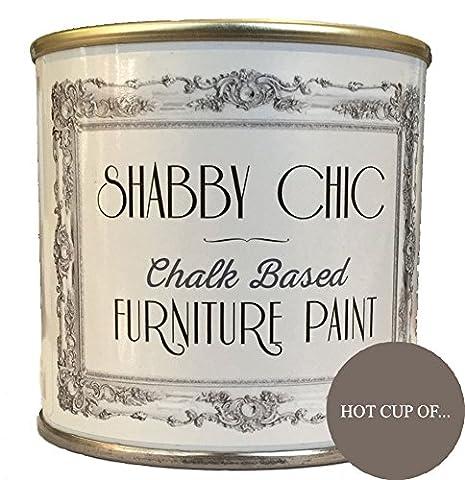 Hot Cup Of .. Mobilier de peinture idéale pour créer un style Shabby Chic. 250ml