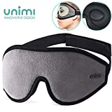 ask for Sleeping, Ultra Soft Breathable Memory Foam Sleeping Eye Mask, 100% Blackout