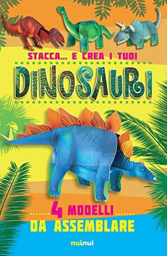 Stacca... e crea i tuoi dinosauri. Ediz. a colori