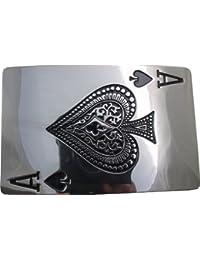 Retro Belt Buckle - Ace of Spades