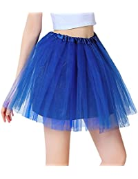080bcff46d32 Chen Rui (TM Damen Petticoat Tutu Unterrock Kurz Ballett Tanzkleid  Ballkleid Abendkleid Zubehör