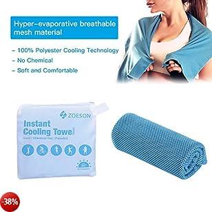 Asciugamano di raffreddamento evaporativo, asciugamano a raffreddamento da 40