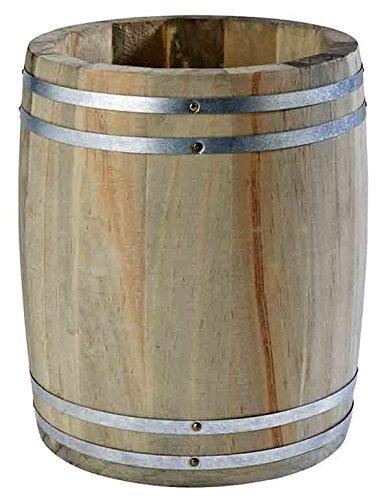 Besteckbehälter Holzfass Country Style