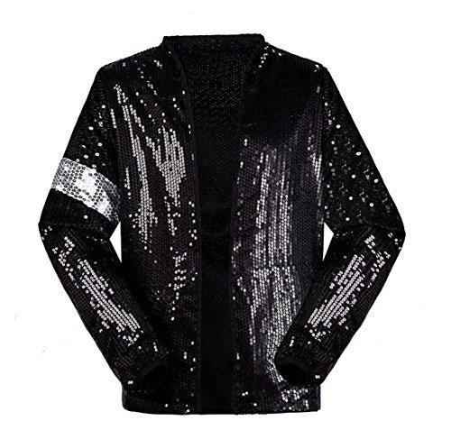 Denim Jacke Kostüm - Michael Jackson Jacke Billie Jean Rollenspiele