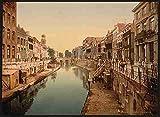 Photo The Oude Gracht Viebrug Utrecht A4 10x8 Poster Print