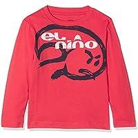 El Niño 3080 Camiseta Manga Larga, niños, Grosella, 4