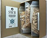 SWB Smoking Chips/ Bastoncini di legno per affumicatura - Set 3 x 0,5kg (1,5kg)