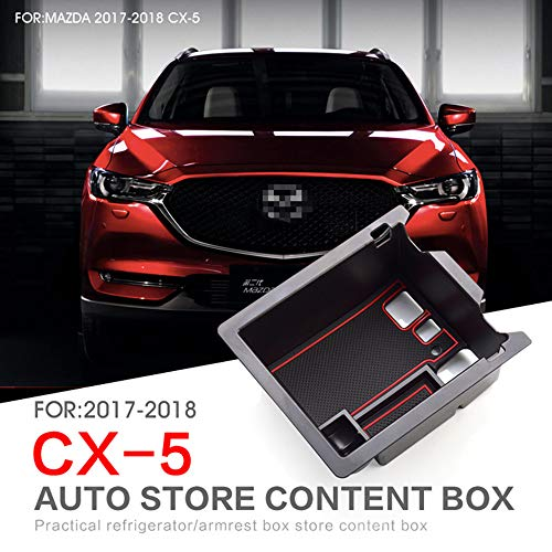 L&U Auto Front Mittelarmlehne Empfangsfach Konsole Aufbewahrungsbox Geeignet für Mazda CX-5 2017-2018