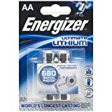 ENERGIZER blister packs of 6 L91 Ultimate Lithium Batteries 2 AA Mignon LR6