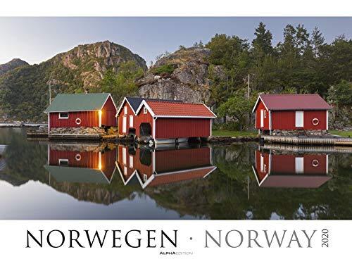Norwegen 2020 - Norway - Bildkalender XXL (64 x 48) - Landschaftskalender - Naturkalender - Wandkalender