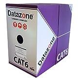 Cat 6Solid LSZH Cable 305m caja violeta 100% cobre datos cable de Ethernet