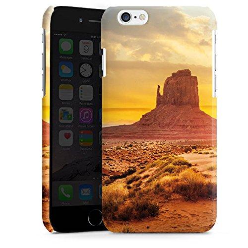 Apple iPhone 5s Housse Étui Protection Coque Coucher de soleil Amérique Désert Cas Premium brillant