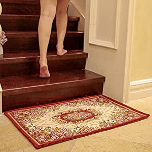 European Style Door Mats And Porch Step On The Mat And Stair Car