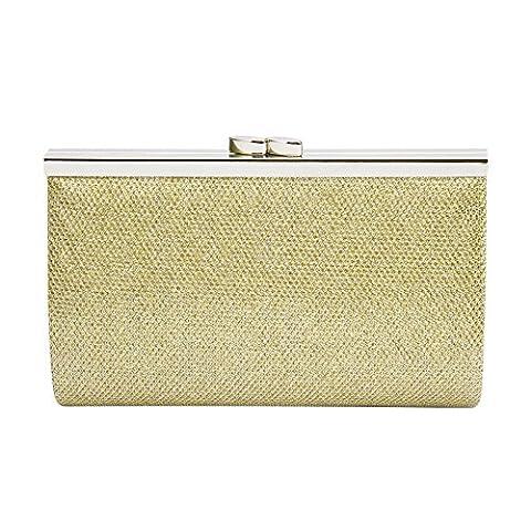 Ladies Mini Glitter Shimmer Evening Party Clutch Bag Clip Clasp Handbag Tote Bag