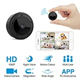 HEYSTOP Mini Spy Camera, Wifi Hidden Camera Spy Cam Remote Small Wireless Camera