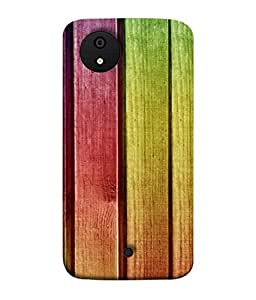 Fuson Designer Back Case Cover for Micromax Canvas Android A1 AQ4501 :: Micromax Canvas Android A1 (Colorful Ply Multicolor Artist Painting Male)