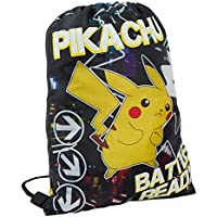 Pokemon Pikachu Glow In The Dark Drawstring Gym Bag