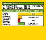JBL NovoVert 30190 Alleinfutter für pflanzenfressende Aquarienfische, Flocken 100 ml