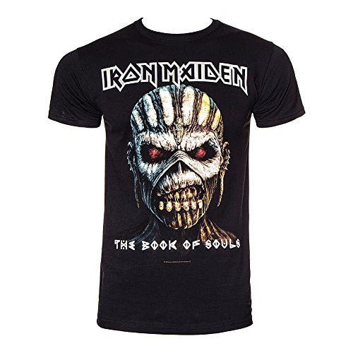 Iron Maiden The Book Of Souls Camiseta Negro M