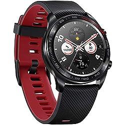 Docooler Huawei Hounor Montre Magic Smart Watch 1.2Pouces écran en Couleur Amol GPS Montre de Bracelet 390* 390Moniteur de fréquence Cardiaque podomètre Tracker d'exercices