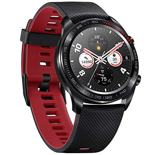 Huawei Honor Watch Magic 1.2 Pulgadas Pantalla en Color Amol GPS Reloj de Pulsera 390 * 390 Monitor de frecuencia cardíaca Podómetro Rastreador de Ejercicios