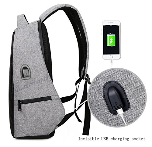 Multifunktionale Umhängetasche Mann Computer Tasche Einbrecher Student Bag Business Rucksack Freizeit Reisen Modetrend Blue