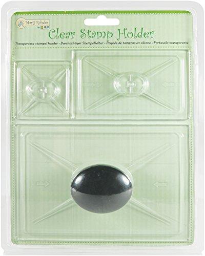 Jeje CLEAR STAMP Halter, Kunststoff, 22x 17,4x 3,2cm (Clear Stamp Holder)
