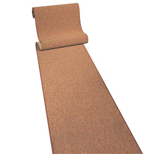 Sparta terra Teppichläufer Meterware 100 cm breit Teppich Läufer Brücke Flur in vielen Längen und Breiten lieferbar
