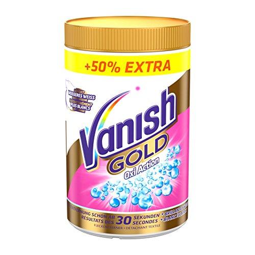 Vanish GOLD Oxi Action für Weißes Pulver, Wäsche-Weiss und Fleckenentferner, 1er Pack (1 x 1,5 kg)