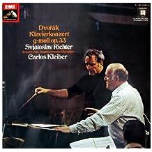 Dvorak: Klavierkonzert g-moll op. 33 (EMI) [Vinyl LP record] [Schallplatte]
