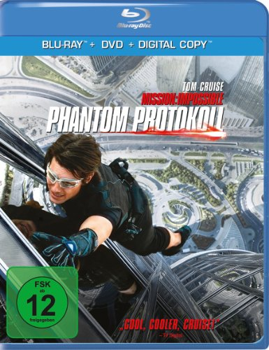 Mission: Impossible - Phantom Protokoll (inkl. DVD + Digital Copy) - Impossible Blu-ray Mission Die