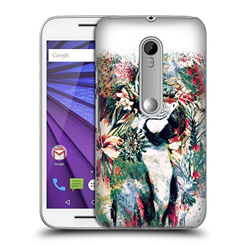 Official Riza Peker Parrot Animals Hard Back Case for Motorola Moto G...