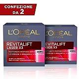 L'Oréal Paris Revitalift Laser X3 Crema Antirughe di Giorno per Viso con Acido...