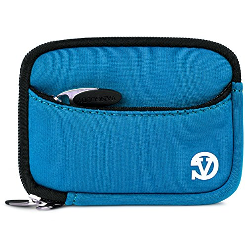 Vangoddy Mini Glove Sleeve Pouch Case For Nikon Coolpix P340, P330, P310, P300, P5000 Point & Shoot Digital Cameras (Sky Blue) (AD_CAMLEA622_CAM:14:VGLV010)  available at amazon for Rs.1393