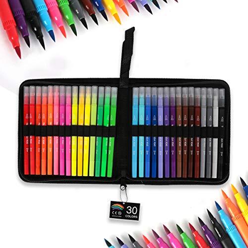 Rotuladores de 30 colores
