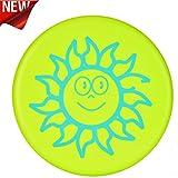 Winiron B07DPM5QWB Frisbeescheibe Softe Wurfscheibe Weiches Verdickte Frisbee mit Cartoon Muster für Kinder Sport (Grün)