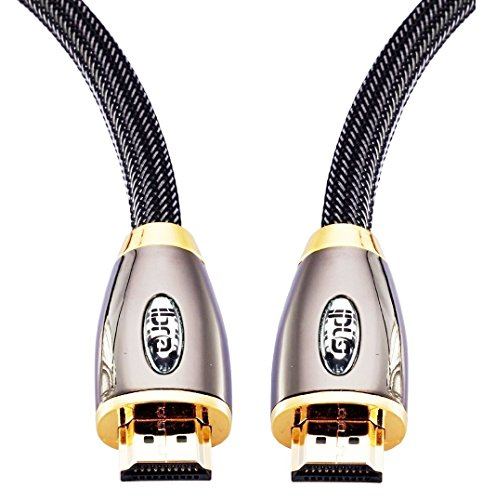 HDMI Cable 2M High Speed PRO GOLD HDMI Cable v2.0/1.4a 3D 2160p PS4 SKY HD 4K Ultra HD Ethernet Audio Return Virgin BT - IBRA RED