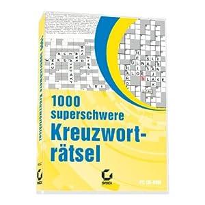 1000 superschwere Kreuzworträtsel