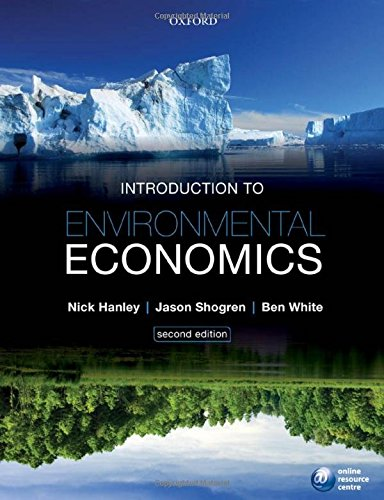 Introduction to Environmental Economics por Nick Hanley